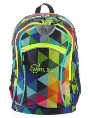 Spordikott Wheel Bee® Night Vision, roheline/kollane