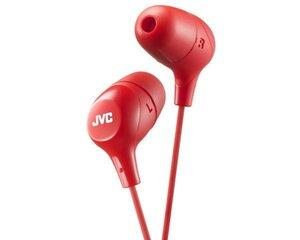 Dünaamilised kõrvaklapid JVC, HA-FX38RE, punane