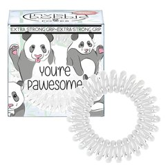 Juuksekumm Invisibobble Power 3 Extra Strong You're Pawesome 3 tk