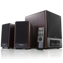 Kõlar Microlab FC-530U 2.1 Speakers/ 64W RMS (18Wx2+28W)/ Remote/ FM Radio/ USB, SD Card Slots