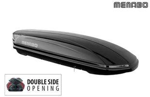 Katuseboks Menabo Mania Duo 580, must