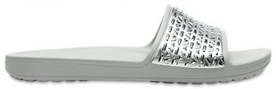 Naiste plätud Crocs™ Sloane Graphic Etched Slide, hall