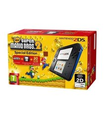 Mängukonsool Nintendo 2DS + Super Mario Bros 2, must