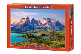 Pusle Puzzle Castorland Torres del Paine, Patagonia, Chile, 1500 detaili hind ja info | Pusled | kaup24.ee