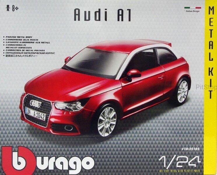 Авто модель Audi A1 Bburago, 1:24 интернет-магазин