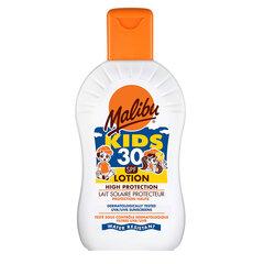 Päikesekaitsekreem lastele Malibu SPF 30 200 ml hind ja info | Päikesekaitse SPF | kaup24.ee