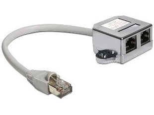 Delock - Adapter LAN 1xRJ45/2xRJ45 Ethernet