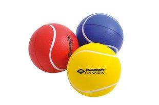 Pehmete pallide komplektSchildkrot Softballs, 3 tk, 7 cm