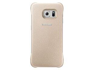 Kaitseümbris Samsung EF-YG925BFEGUS, sobib Samsung G925 Galaxy S6 Edge telefonile, kuldne