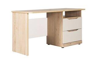 Письменный стол Smart, коричневый / белый / серый