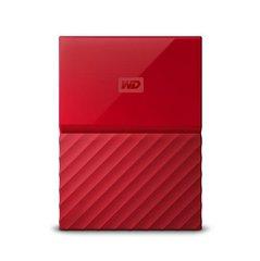 Väline kõvaketas Western Digital My Passport 2.5'' 2GB USB3.1, punane
