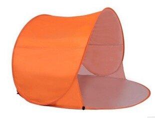 Палатка - укрытие для пляжа, оранжевая цена и информация | Палатки | kaup24.ee