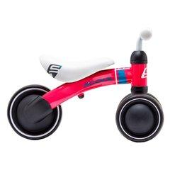 Laste tasakaalu jalgratas Scool pedeX, punane hind ja info | Jooksurattad | kaup24.ee