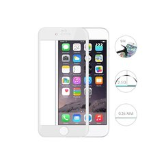 Karastatud klaasist ekraanikaitse Swissten Ultra Durable 3D Japanese Tempered Glass, sobib Apple iPhone 6 / 6S telefonile, valge