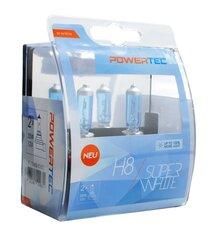 Autopirnid M-Tech Powertec SuperWhite H8 12V, 2 tk