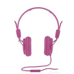 Kõrvaklapid mikrofoniga Modecom Fruity MC-400, roosa