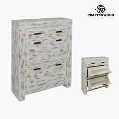 Jalatsikapp Craftenwood, valge цена и информация | Мебель для прихожей | kaup24.ee