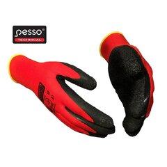 Töökindad Pesso Red Star hind ja info | Käekaitsmed | kaup24.ee