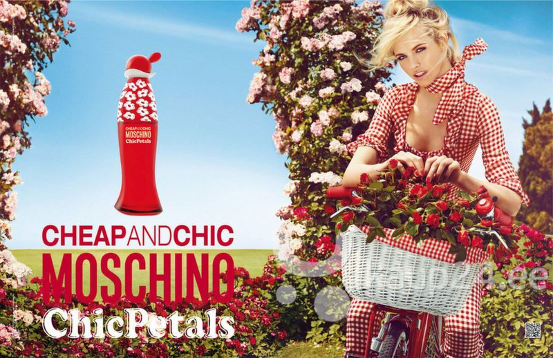 Туалетная вода Moschino Cheap & Chic Chic Petals edt 100 мл интернет-магазин