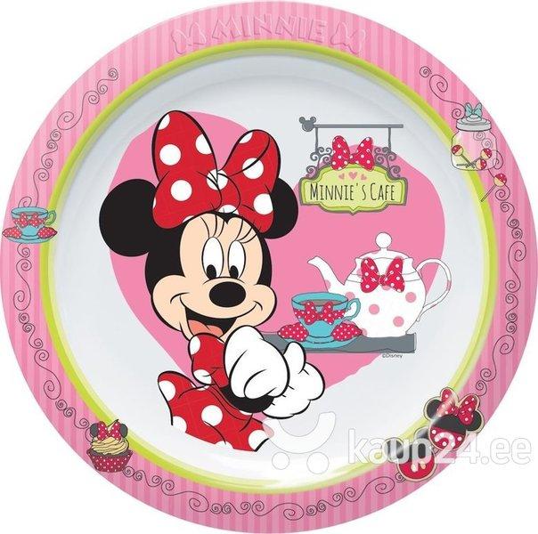Laste taldrik Disney Minnie Cafe, 22 cm
