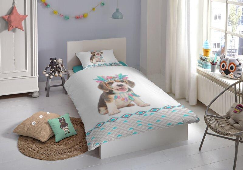 Laste voodipesukomplekt 2-osaline GOOD MORNING Louis, 135x200 cm hind