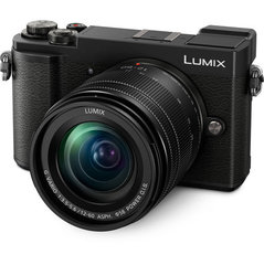 Panasonic Lumix DC-GX9MEG-K + 12-60 mm komplekt, must