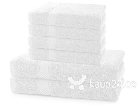 Rätikute komplekt DecoKing BAMBY 6 tk, white   hind ja info | Rätikud | kaup24.ee