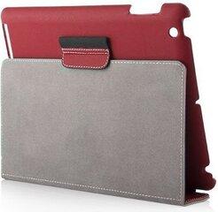 Kaitseümbris tahvelarvutile Modecom California Casual sobib iPad 2/3, punane hind ja info | Tahvelarvuti kaaned ja kotid | kaup24.ee