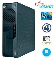 Lauaarvuti Fujitsu Siemens E7935 SFF E7300 4GB 500GB DVD Win10Pro
