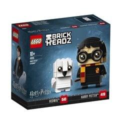 41615 LEGO® BRICK HEADZ Harry Potter™ & Hedwig™ цена и информация | Конструкторы | kaup24.ee