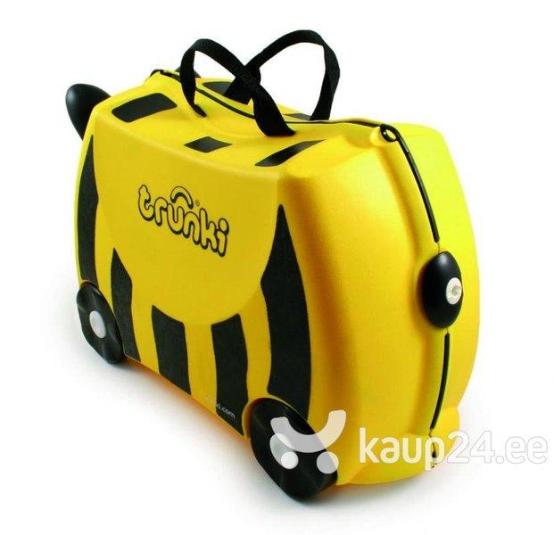 Laste kohver Trunki Bee Bernard hind