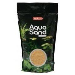 Värviline liiv Zolux Aquasand Trend Cinnamon Yellow, 3 l hind ja info | Akvaariumi kaunistused | kaup24.ee