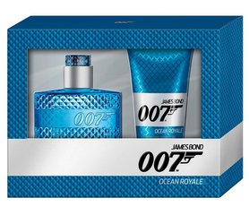 Komplekt James Bond 007 Ocean Royale: EDT meestele 50 ml + dušigeel 150 ml