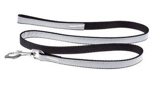 Valgust peegeldav jalutusrihm Amibelle, must M, pikkus 120 cm, laius 2,5 cm