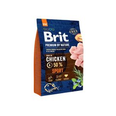 Kuivtoit koertele BRIT Premium By Nature Sport 15 kg