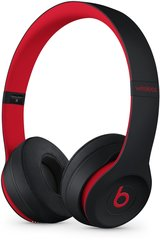 Kõrvaklapid Beats Solo3 Wireless On-Ear Headphones - The Beats Decade Collection - Defiant Black-Red MRQC2ZM/A