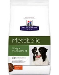 Kuivtoit koertele Hill's Prescription Diet Canine Metabolic, 12 kg
