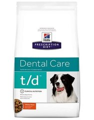 Kuivtoit koertele Hill's Prescription Diet t/d Canine, 3 kg