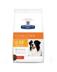 Kuivtoit koertele Hill's Prescription Diet Canine c/d Multicare, 12 kg