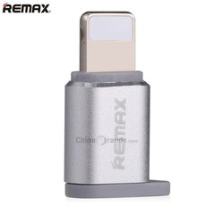 Remax Visual RA-USB2 Micro USB to Apple Silver