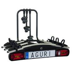 Dviračių laikiklis ant kablio Aguri Acitve bike 3 hind ja info | Rattahoidjad | kaup24.ee