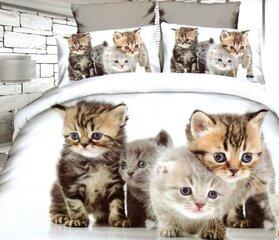 Voodipesukomplekt, 2-osaline Cats 140x200 cm