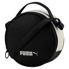 Naiste õlakott Puma Prime Classics Round, must/valge hind ja info | Naiste käekotid | kaup24.ee