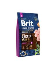 Сухой корм для собак Brit Premium By Nature Adult Small S, 8 кг цена и информация | Сухой корм для собак Brit Premium By Nature Adult Small S, 8 кг | kaup24.ee