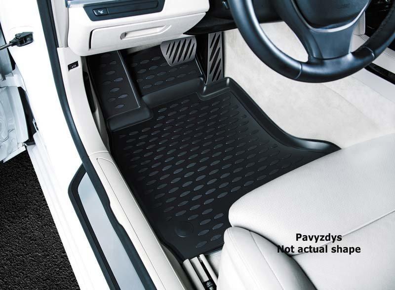 Matid 3D SEAT Leon 2012-, (Typ 5F), 4 tk, must/L55005