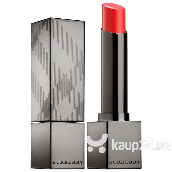 Huulepulk Burberry Kisses Sheer Moisturising Shine Orange Poppy No.273 2 g