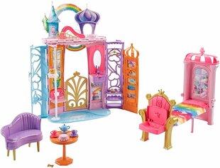 Nuku Barbie Rainbow Castle hind ja info | Tüdrukute mänguasjad | kaup24.ee