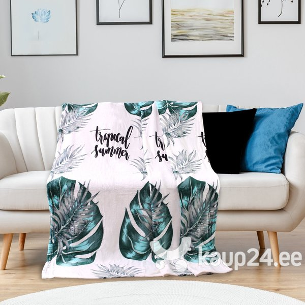 Decoking Jungle Collection pledas Summer, 170x210 cm tagasiside