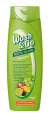 Šampoon puuvilja ekstraktiga Wash & Go 200 ml
