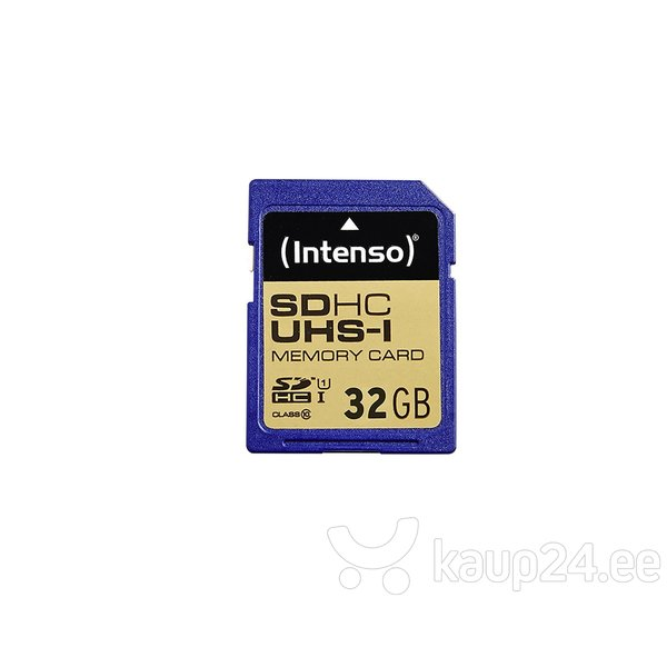 Mälukaart Intenso SDHC UHS-I 32GB CL10
